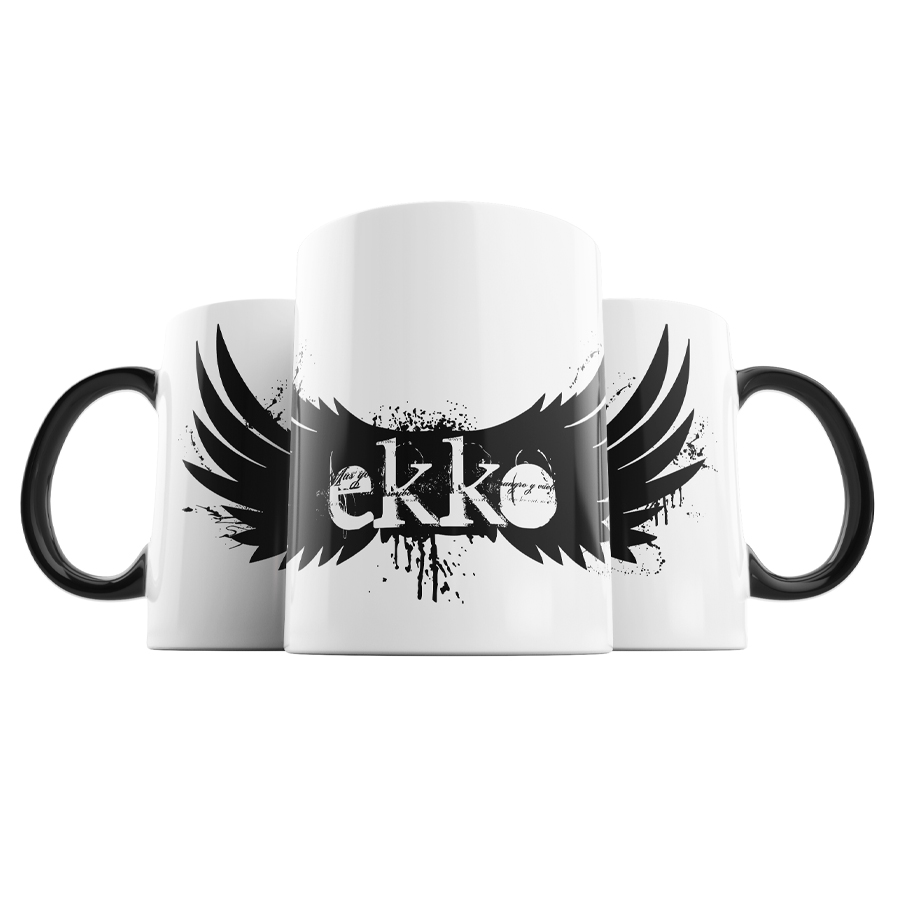 Taza Logo Ekko