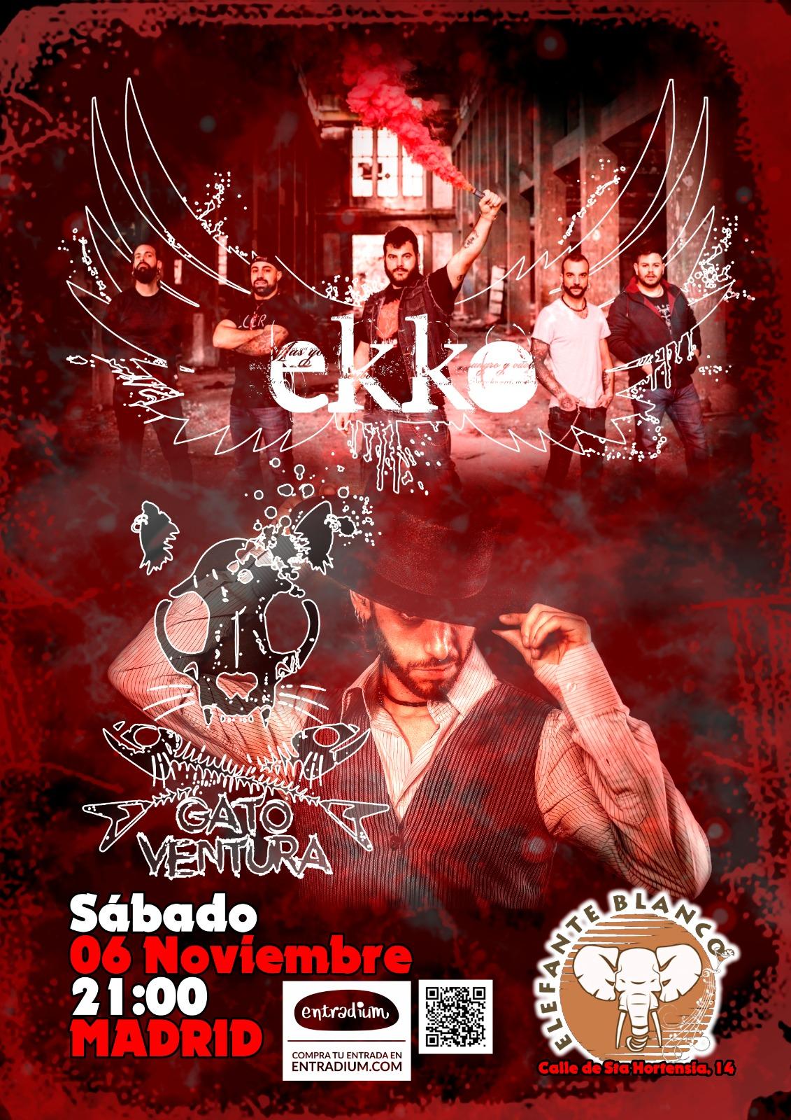 Ekko + Gato Ventura en Madrid